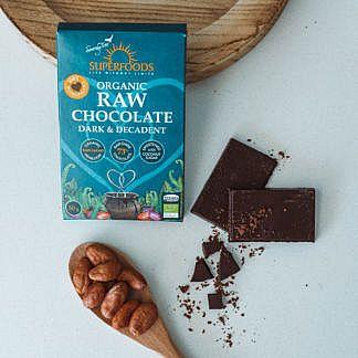 Organic Raw Chocolate, Longevity Coffee Raw Chocolate Bar