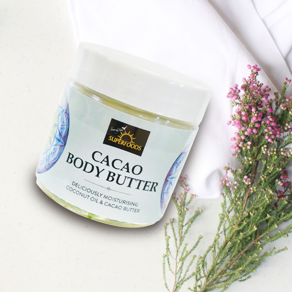 cacao body butter, Organic Cacao Body Butter
