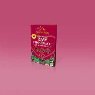 dark chocolate goji berry flavour