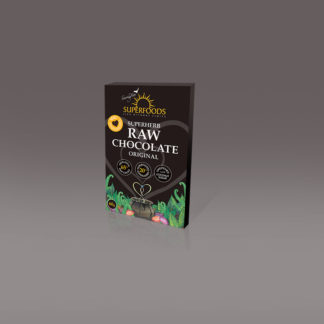 organic chocolate with superfood