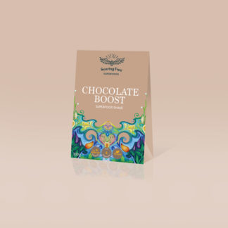 superfood shake chocolate flavour chocolate boost by soaring free superfoods