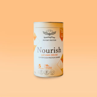nourish superfood protein shake soaring free -250