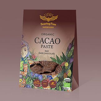 organic cacao paste for chocolate