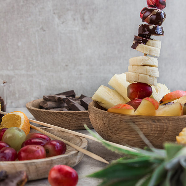 Chocolate Fruit Fondue Recipe