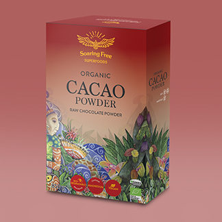 raw organic cacao powder_