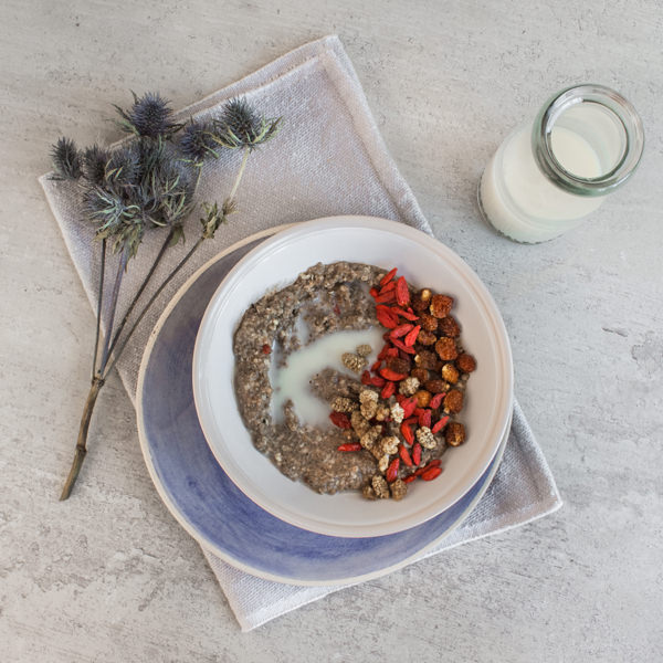 Chia Vanilla Breakfast Recipe