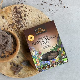 Organic Raw Chocolate, Organic Raw Cacao Paste