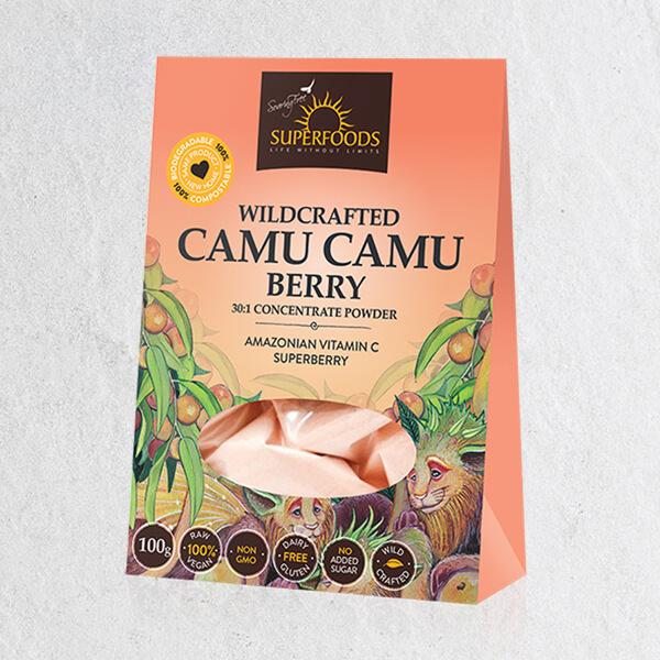 wildcrafted camu camu berry