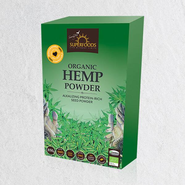Organic Hemp Powder, Organic Hemp Powder