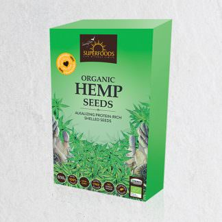 Buy Organic Hemp Seeds - Soaring Free Superfoods