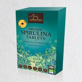 Spirulina Tablets, Organic Spirulina Tablets