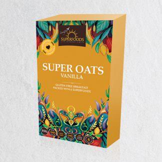 Super Oats Vanilla Breakfast, Super Oats Vanilla
