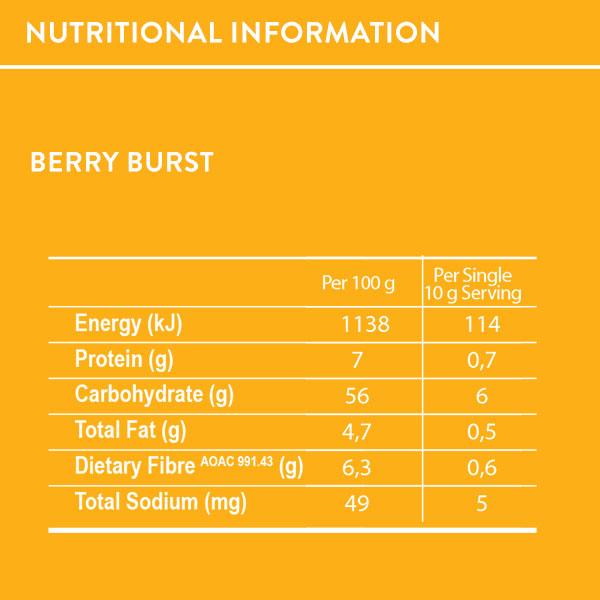 Super Snack Berry Burst, Organic Super Snack Berry Burst