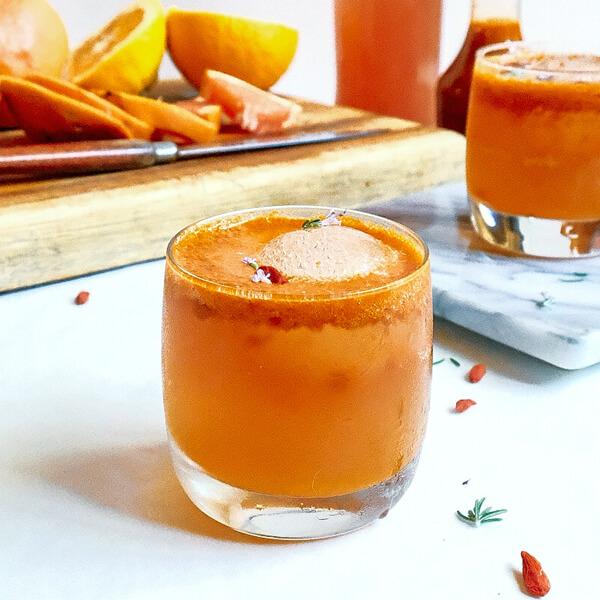 Goji Berry Cordial Spritzer Recipe Soaring Free Superfoods