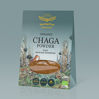 chaga powder organic wildcrafted