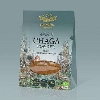 chaga powder organic wildcrafted