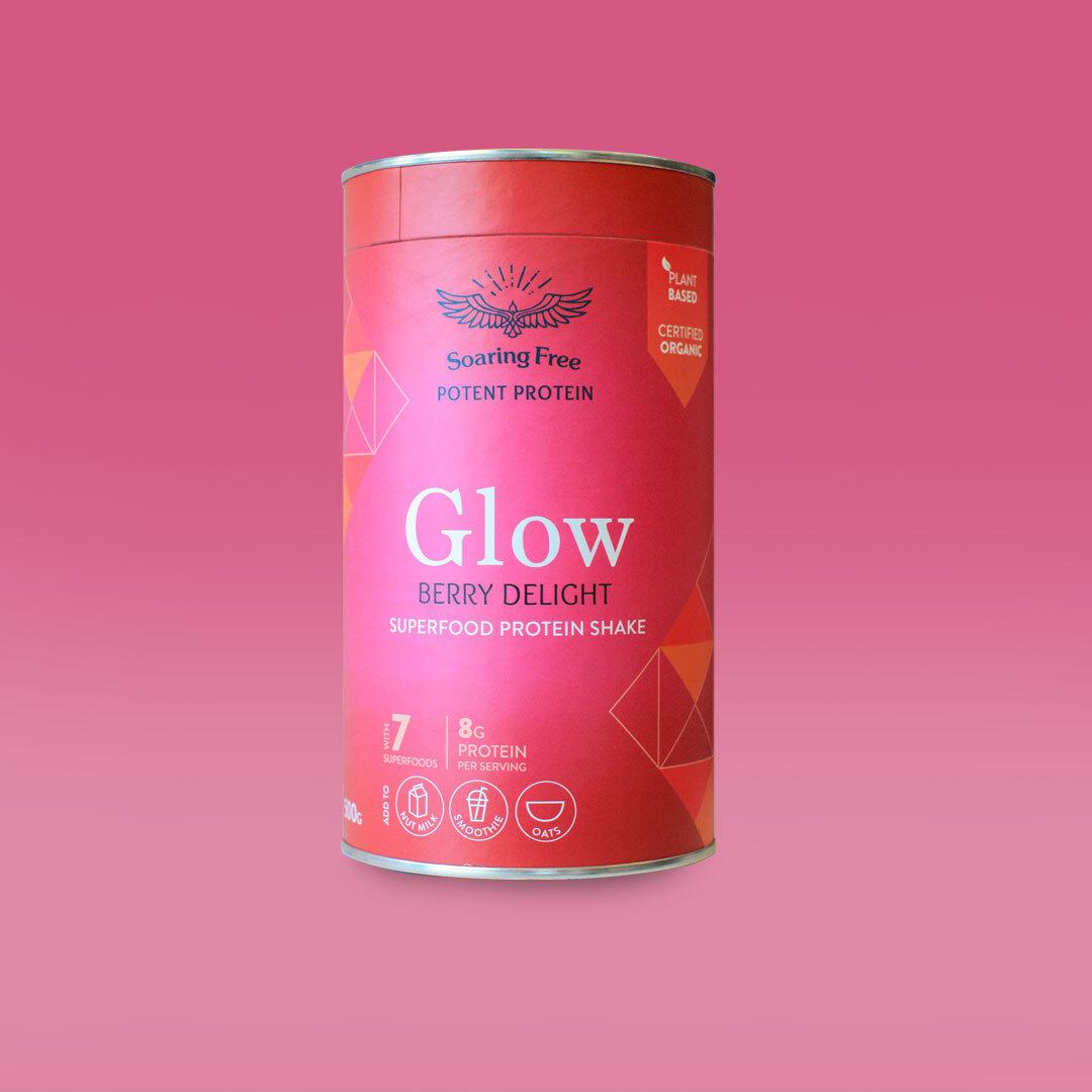 Glow Superfood Protein Shake 500g