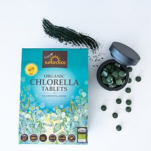 Chlorella tablets product page
