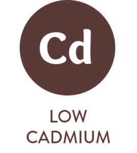 Low Cadmium icon by Soaring Free Superfoods