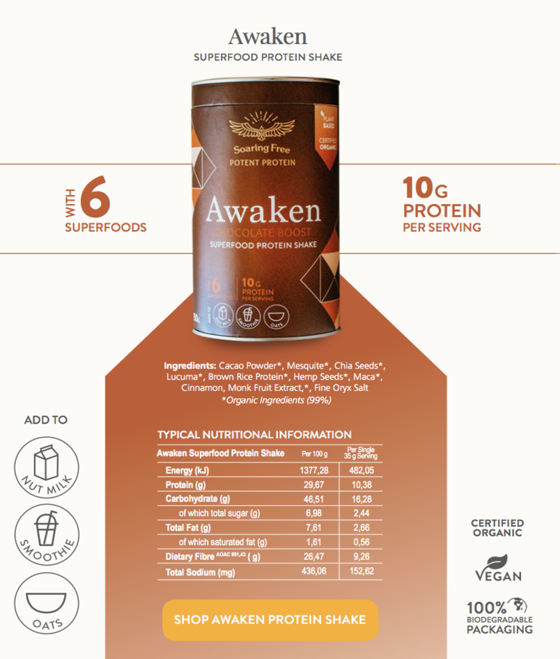 superfood-protein-shake-awaken-nutritional-analysis
