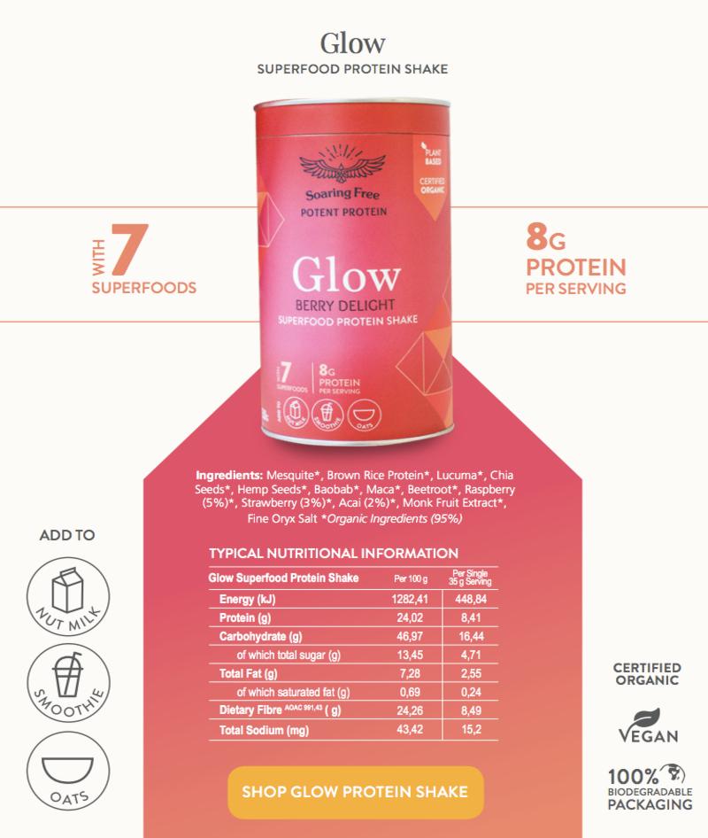 superfood-protein-shake-glow-nutritional-analysis